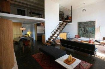 loft style decorating